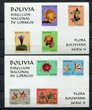 37193) BOLIVIA 1971 MNH** Bolivian Flowers