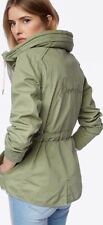 New Women's Bench Embroidered Lightweight Casual Jacket Parka Green XS RRP£75