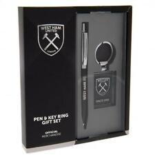 West Ham United F.C. Pen & Keyring Set Official Merchandise