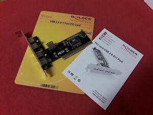 Delock USB 2.0  4+1 Port PCI Card