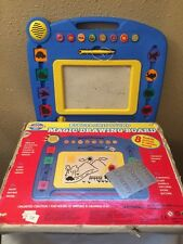 Electronic Sound Magic Drawing Board Animal Vehicle Sounds Magnetic Stamp Toy