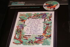 Lord Bless Keep Thee Bible verse sampler Artiste Counted Cross Stitch Kit NIP