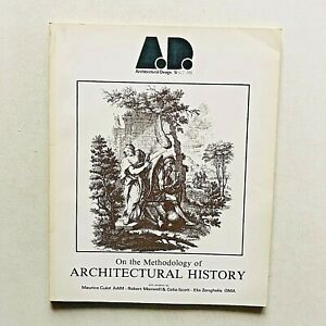 AD A.D. Architectural Design 6/7 1981 Methodology of architectural history