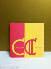 Cantina Central square drink beer cocktail coaster coasters 1 X9