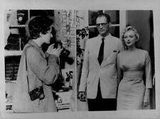 1956 PlayWright Arthur Miller Weds Ingeborg Morath Press Photo