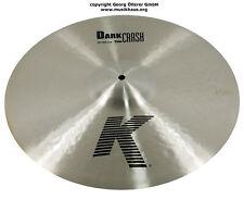 """Zildjian 18"""" Dark Thin Crash K-serie precio especial mercancía nueva"""