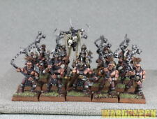 25mm Warhammer WDS painted Warriors of Chaos Marauders c94