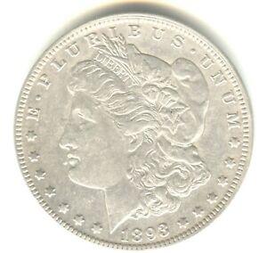 1893 O Morgan Dollar AU++ in Grade White Coin Scarce This Nice Key Date