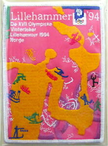 1994 WINTER OLYMPICS XVII Lillehammer Norway OLYMPIC GAMES PATCH Willabee & Ward