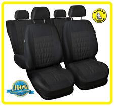 CAR SEAT COVERS full set fit HONDA LEGEND - Eco leathe leatherette black