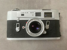 Leica M5 Chrome New Cla 09/2020 From 1972 + Elmar 5cm 2.8