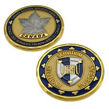 CBSA Canada Border Services Customs Border Badge Police Unit Challenge Coin