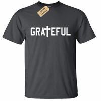 KIDS BOYS GIRLS Grateful Christian Religious Tee Cross Jesus Religion T-Shirt