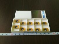 SECO XOEX 120431R-M07 F40M 10 PCS CARBIDE INSERTS FREE SHIPPING
