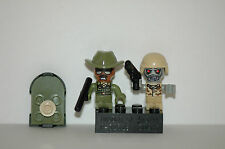 Kre-o Kreo Mini figCityville Invasion Collection 1 Sgt. Drill + Zombie Soldier