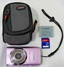 CANON POWER SHOT SD 3500 IS DIGITAL CAMERA, BATTERY,  SD CARD & CASE