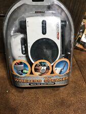 Innovage Wireless Speaker, FM Scan Radio, TV, MP3, DVD, CD New
