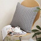 Knitted Cushion Cover 45x45cm