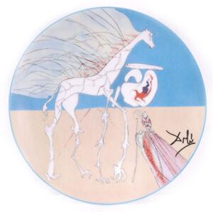 Salvador DALI s/n Ceramic Porcelain COSMOS CONQUEST Girafe Saturnienne 1984