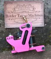 BORDER TATTOO MACHINE,CUT-BACK LINER CUSTOM IRON FRAME 10 LAYER 25MM T-TOP COILS