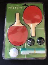 Desktop Tennis Portable Ping Pong Paddle Tabletop Set New/Sealed NOS