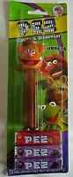 THE MUPPETS Pez Dispenser FOZZIE BEAR [Carded]