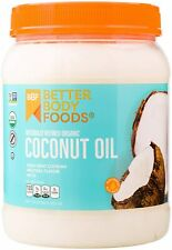 56 Ounce Organic Naturally Refined Coconut Oil with Neutral Flavor and Aroma