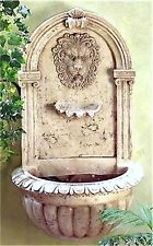 "Popular Elegant ** CLASSIC 30"" GRECO-ROMAN LION HEAD WALL WATER FOUNTAIN ** NIB"