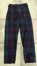 Vintage Queens Own Cameron Highlanders Tartan Trews size 5