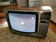 More details for vintage colour television cp-1627bm mitsubishi working