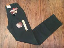 Wrangler Womens Cowboy Cut Low Rise Slim Fit Size 3/4 x 34 green Jeans 18mwz $44