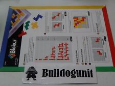 2005 Blokus Board Game Replacement Manual Instructions Only Pieces Parts