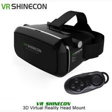 VR SHINECON 3D Virtual Reality 3D Video Glasses+Remote Controller for 4.7-6.0''