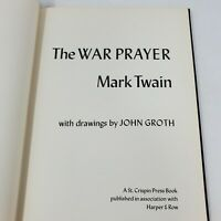 The War Prayer by Mark Twain with Drawings by John Groth 1968