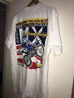 Vtg 1999 Motorcycle National Championship T-Shirt AMA Pro Racing Mazda Shoei GTE