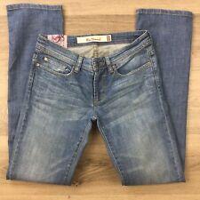 Ben Sherman Women's Jeans Rosie Straight Vintage Indigo Size 27 Actual W28 (AW8)