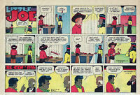 Little Joe by Leffingwell - Western - color Sunday comic page - May 28, 1961