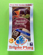 Triple Play Inc Sherlock Holmes Consulting Detective Vol 1. Version 4