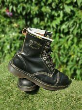 Vintage Black Dr Martens 'Cappers' Air Wair DMs Docs  Boots Size 7 41