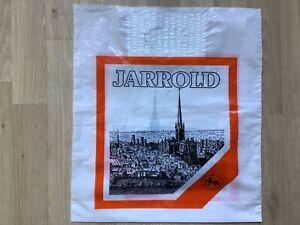Vintage Retro Jarrold Independent Department Store Plastic Carrier Bag Norwich