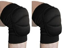 Wrestling Cage Fighting Cycling KNEE Pads SMASH Cotton Padded 1 Pair - Senior