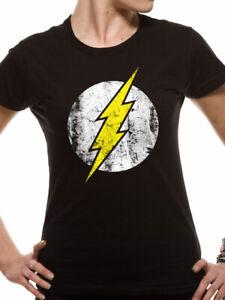Flash - Logo T-Shirt Femme Taille M Cid