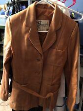 Bermans Vintage Leather Jacket Size 12