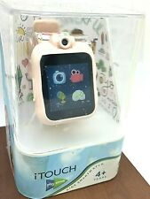itouch Play Zoom Kids Smartwatch Games Camera Interactive Pink Rubber Band