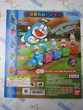 Anime Comic Manga Doraemon Train Gashapon Toy Machine Paper Card Bandai Japan