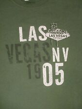 XL green LAS VEGAS, NV 1905 t-shirt by GILDAN