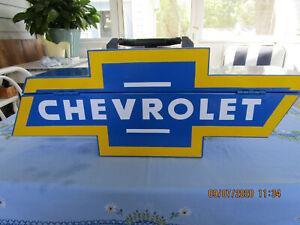 Used Gobox brand Chevy/Chevrolet Bowtie Steel Tool Box Storage BT1000V 1001.