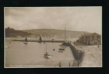 Dorset LYME REGIS The Cobb c1920/30s? RP PPC by Judges