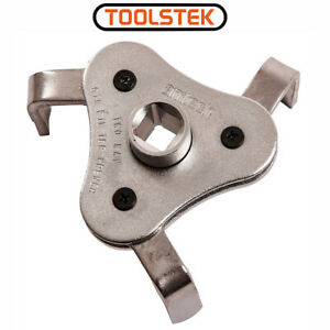 TWO WAY OIL FILTER WRENCH FUEL AMTECH TOOL QUALITY 3 LEG 63-100mm REMOVER CAR