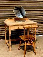 Pine Handmade Dressing Table / Desk